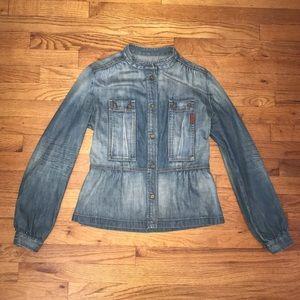 7 for all Mankind vintage denim/jean jacket